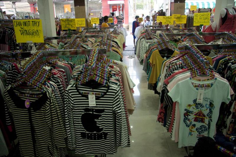 Одежда в Таиланде