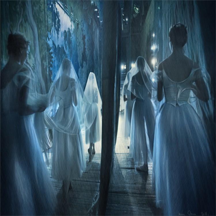 Голубые балерины Марк Олич