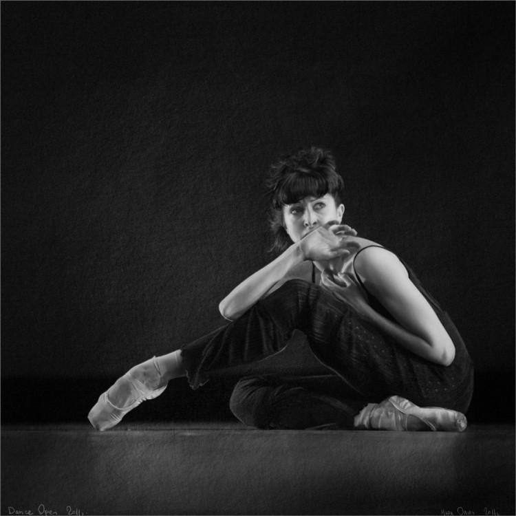 Балерина в пуантах