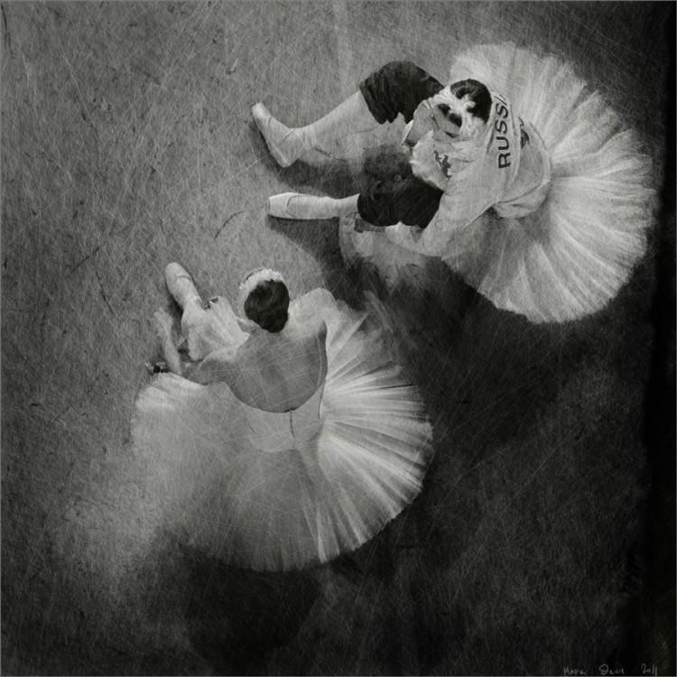 Балерины на отдыхе