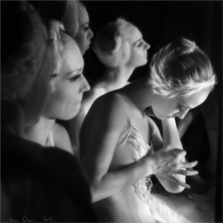 Балерины за кулисами