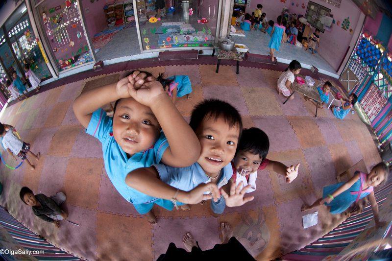 Тайские дети в детском саду Ко Самуи