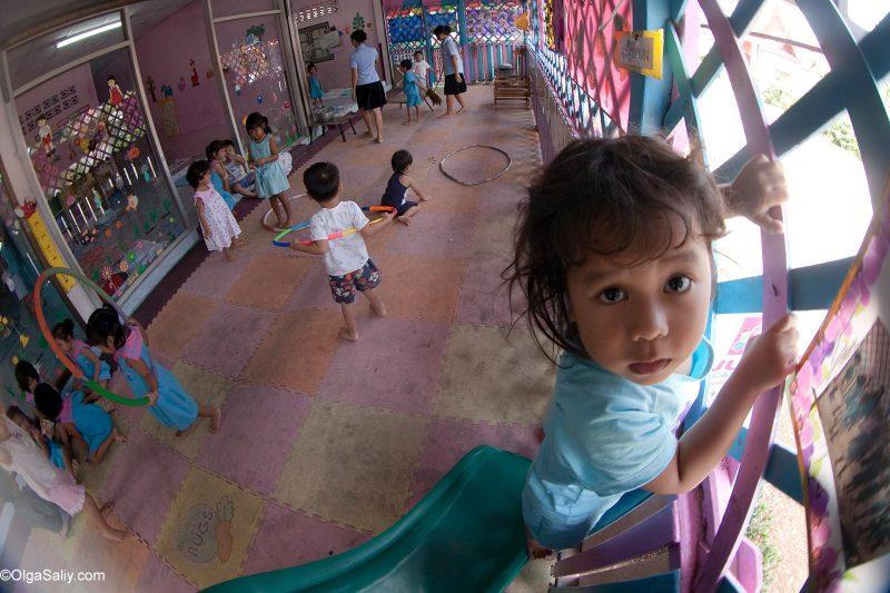 Фоторепортаж из тайского детского сада