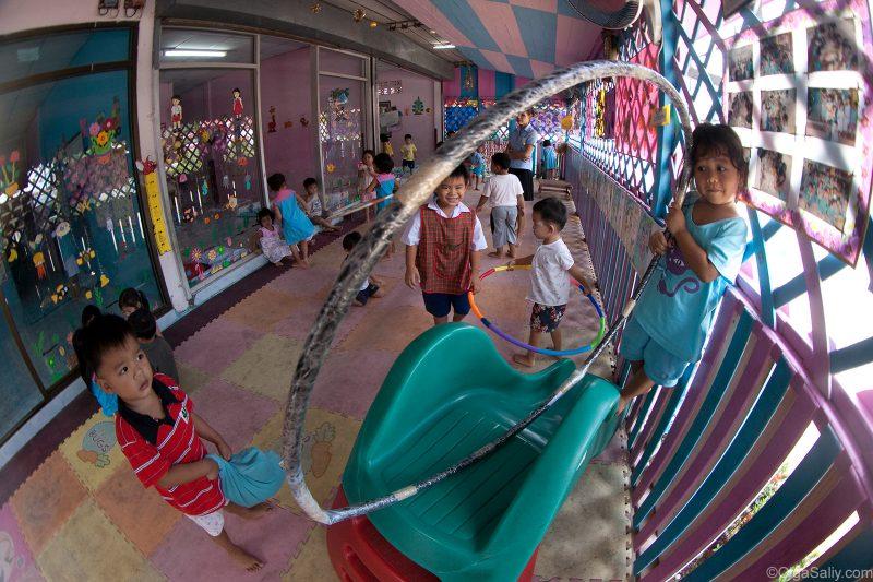 Тайский детский сад - сумасшедший дом