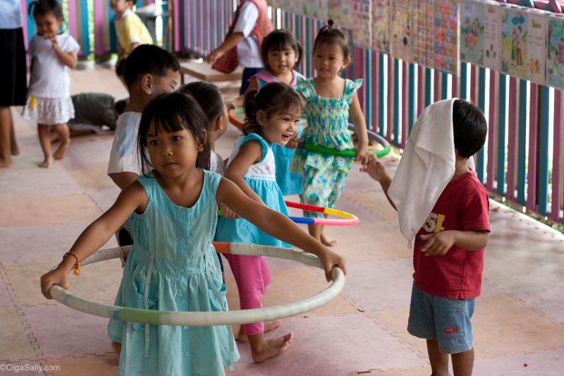 детский сад на Банг По Ко Самуи