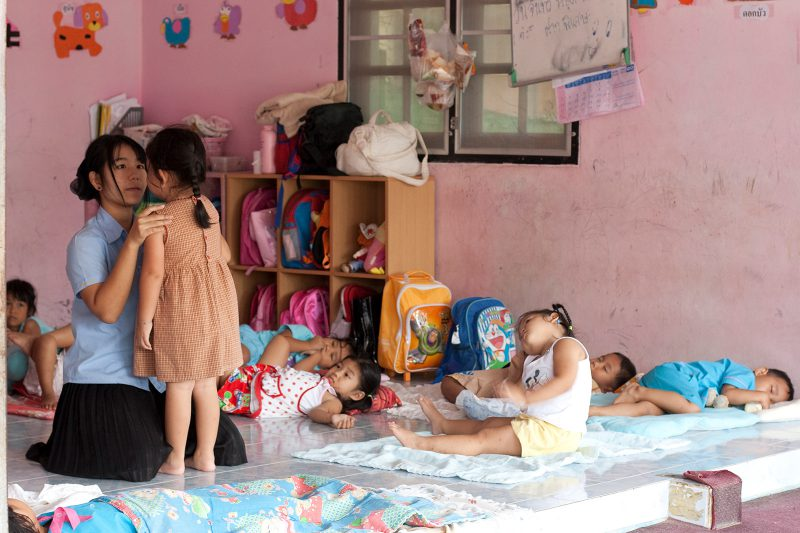 Тайский детский сад. Таиланд, Ко Самуи