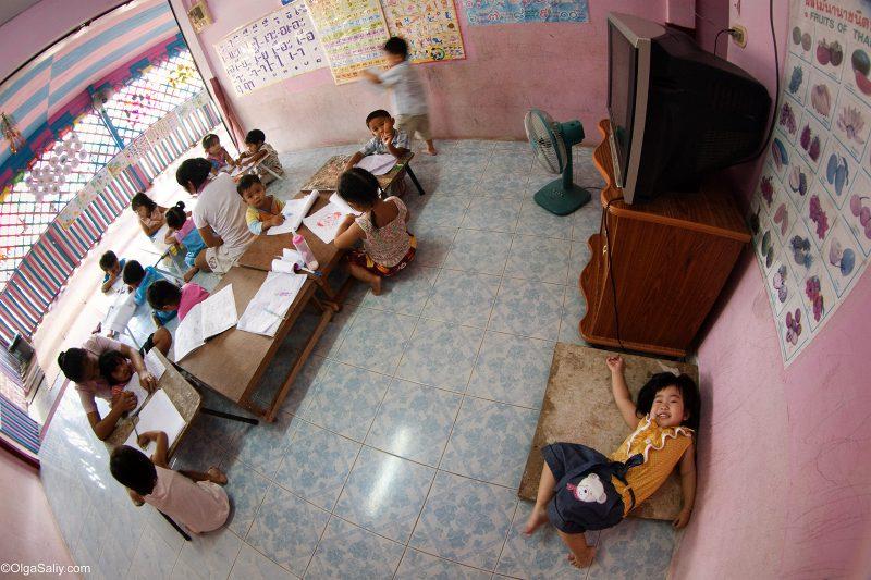 Тайский детский сад в Таиланде (6)
