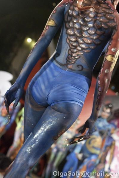 Боди-арт фестиваль на Ко Самуи, Таиланд (10)