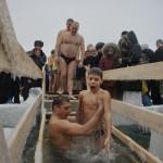 Крещение в Сибири. Holy Baptism in Siberia