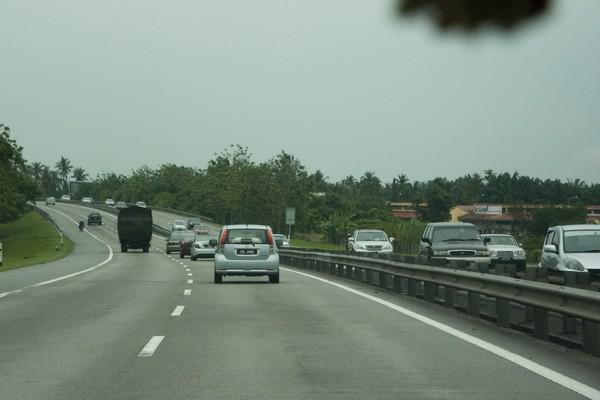 Путь на автомобиле в Малайзию