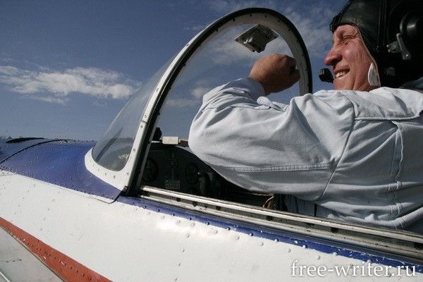 Photostory about Russian pilots (16)