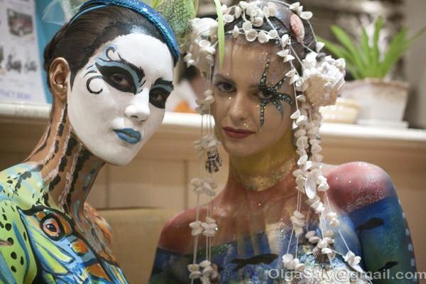 Боди-арт фестиваль на Ко Самуи, Таиланд (21)