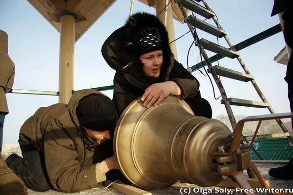 Установка звонницы в Бердске