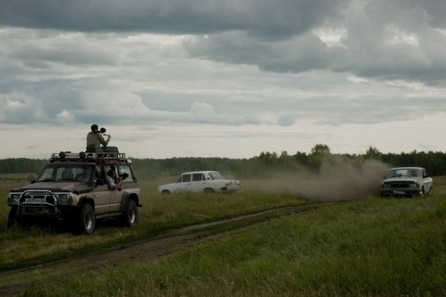 Съёмки Шагая по Канату Олега Захарова