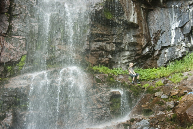 Водопад в Бутаковском ущелье