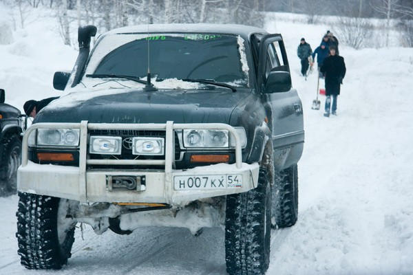 Зимний офроуд Новосибирск (2)