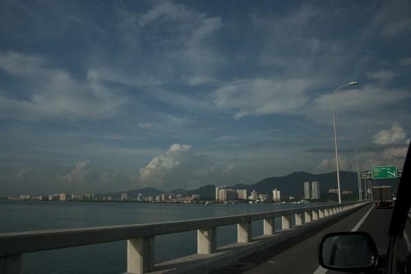 Путь на автомобиле на Пенанг