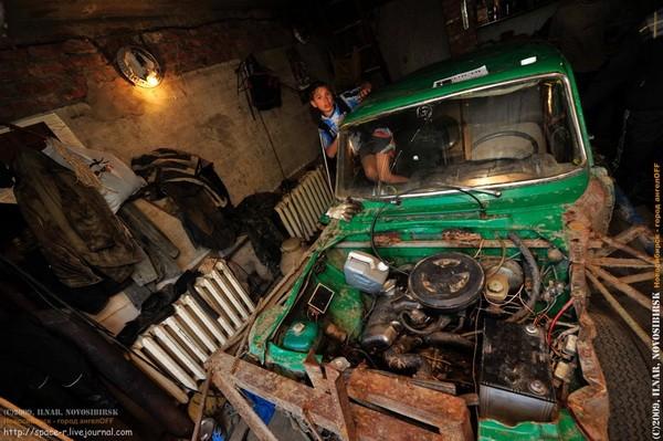 Сибирский кармагеддон - гонки старых машин в Академгородке (30)