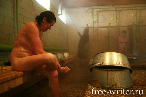 русская общественная баня