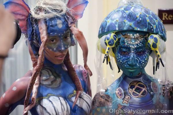 Боди-арт фестиваль на Ко Самуи, Таиланд (20)