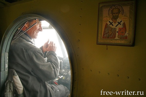 Photostory about Russian pilots (6)