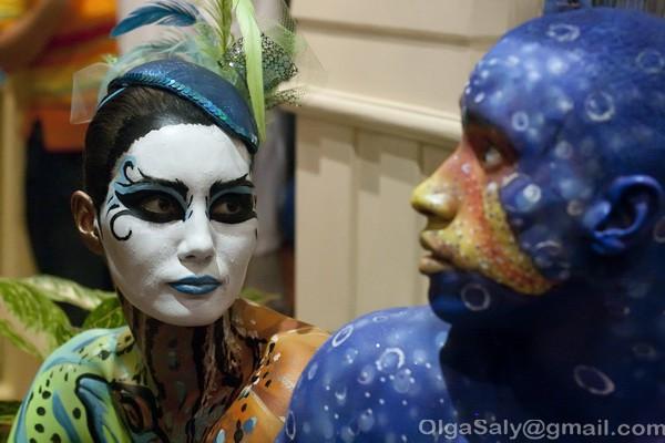 Боди-арт фестиваль на Ко Самуи, Таиланд (24)