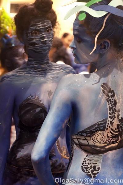 Боди-арт фестиваль на Ко Самуи, Таиланд (22)