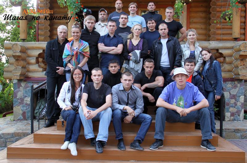 Съёмки фильма Шагая по канату в Новосибирске (4)