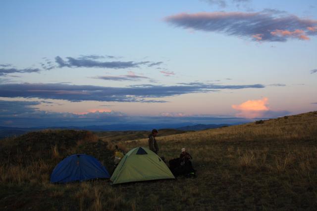 Стоянки в палатках в Туве