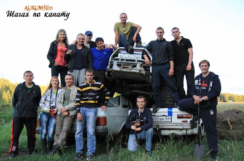 Съёмки фильма Шагая по канату в Новосибирске (21)