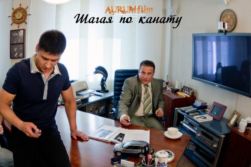 Съёмки фильма Шагая по канату в Новосибирске (8)