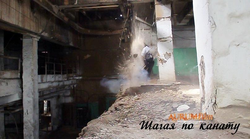 Съёмки фильма Шагая по канату в Новосибирске (7)