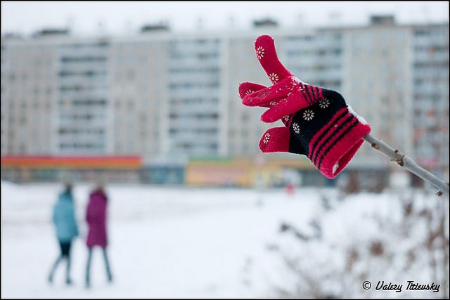ЧБ стрит фото Новосибирска (79)