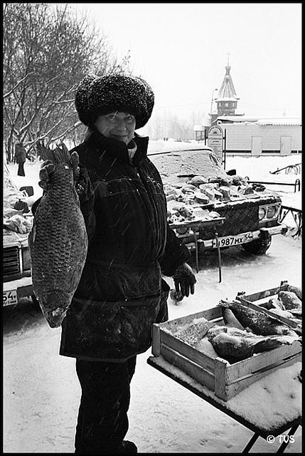 ЧБ стрит фото Новосибирска (72)