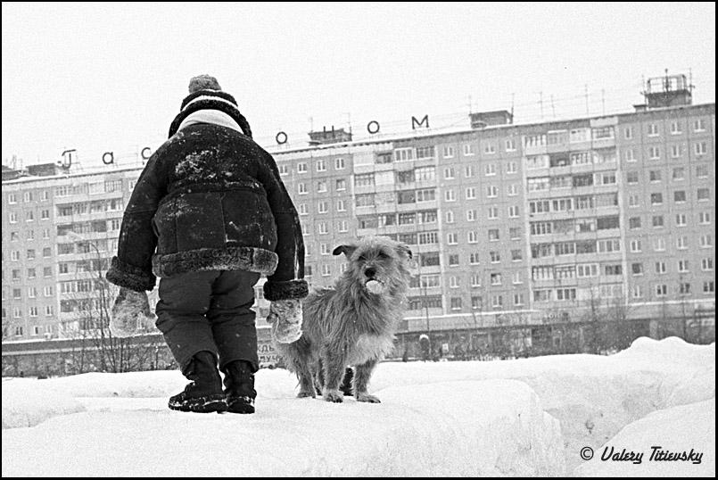 ЧБ стрит фото Новосибирска (71)