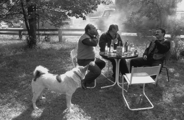 Мужики с собакой