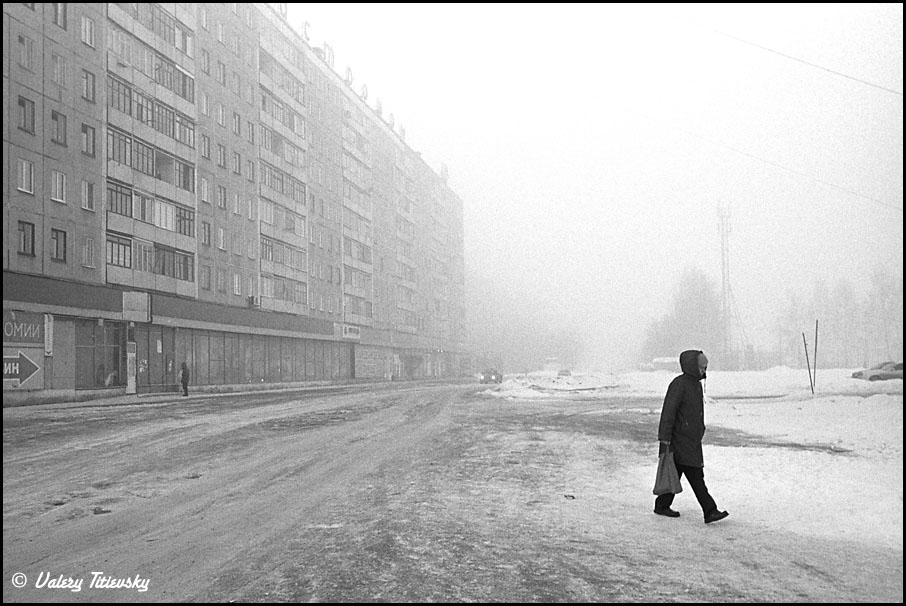 ЧБ стрит фото Новосибирска (69)
