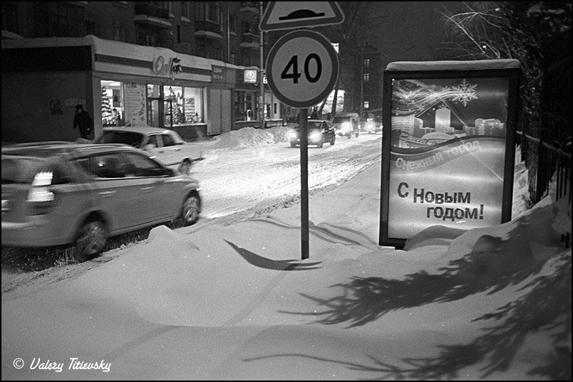 ЧБ стрит фото Новосибирска (68)