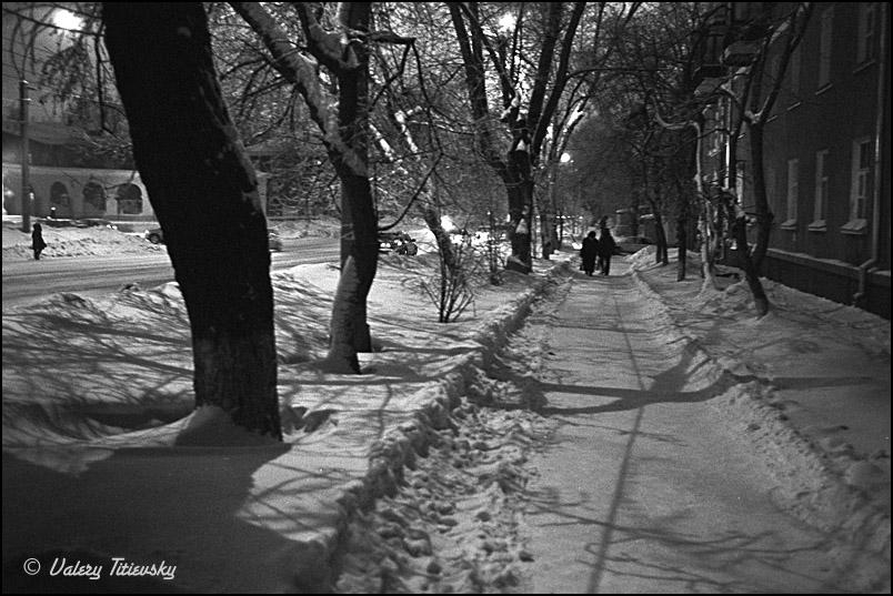 ЧБ стрит фото Новосибирска (63)