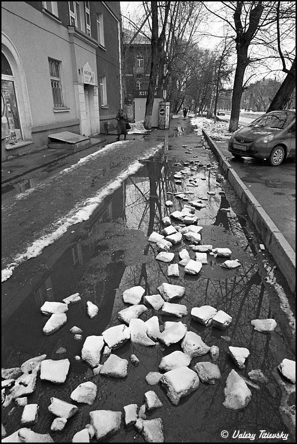 ЧБ стрит фото Новосибирска (61)