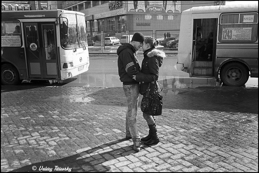 ЧБ стрит фото Новосибирска (52)
