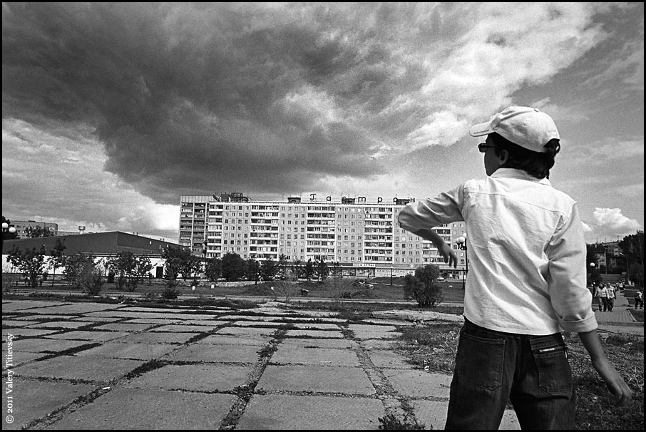 ЧБ стрит фото Новосибирска (46)