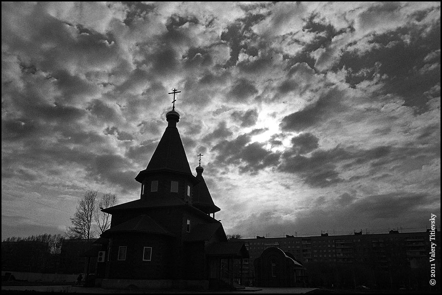 ЧБ стрит фото Новосибирска (45)