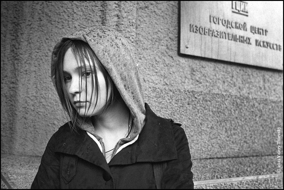 ЧБ стрит фото Новосибирска (37)