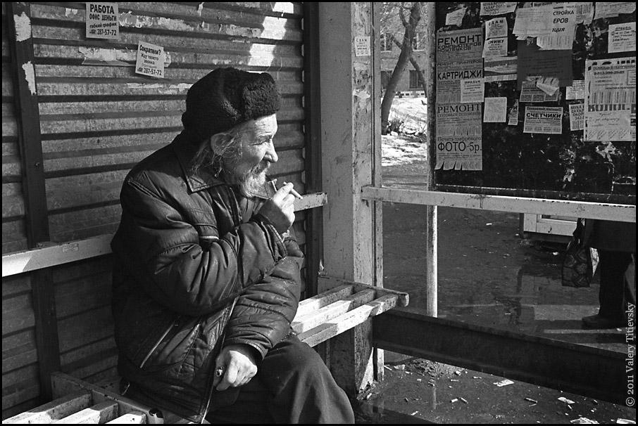 ЧБ стрит фото Новосибирска (28)
