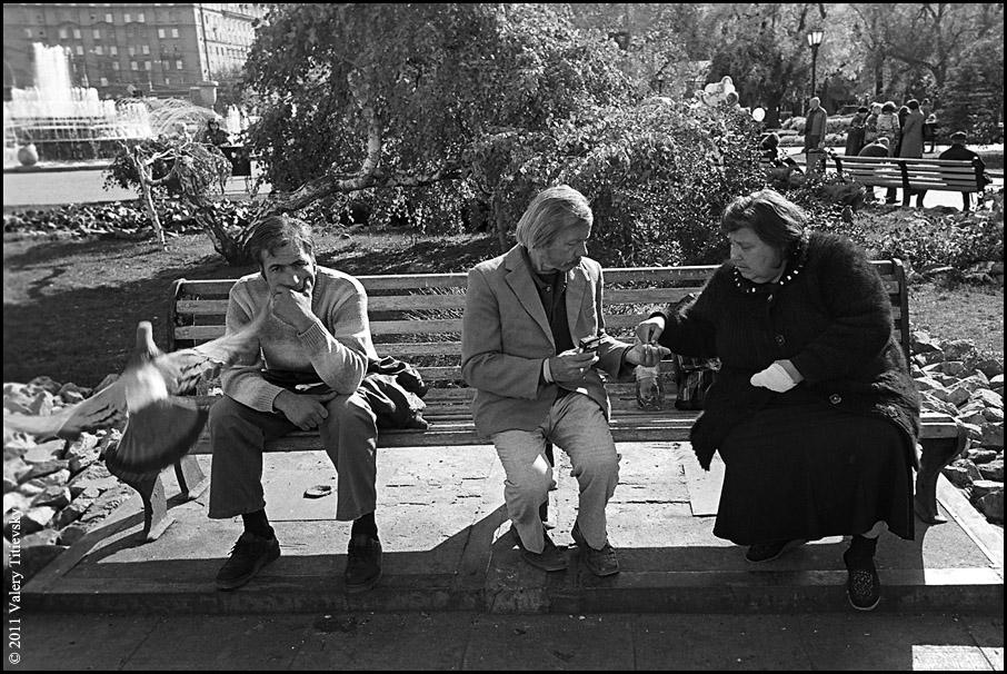 ЧБ стрит фото Новосибирска (25)