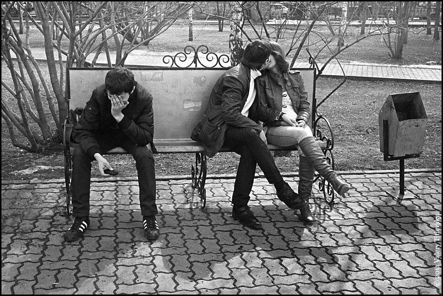 ЧБ стрит фото Новосибирска (24)