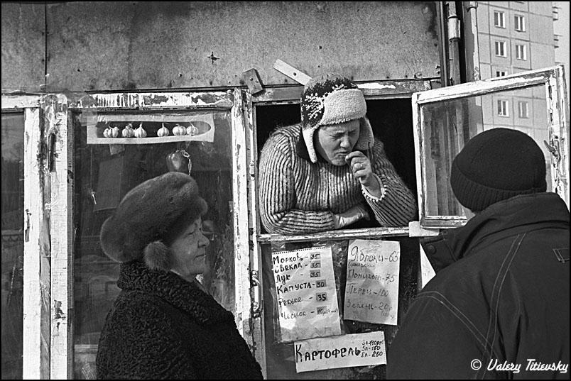 ЧБ стрит фото Новосибирска (17)