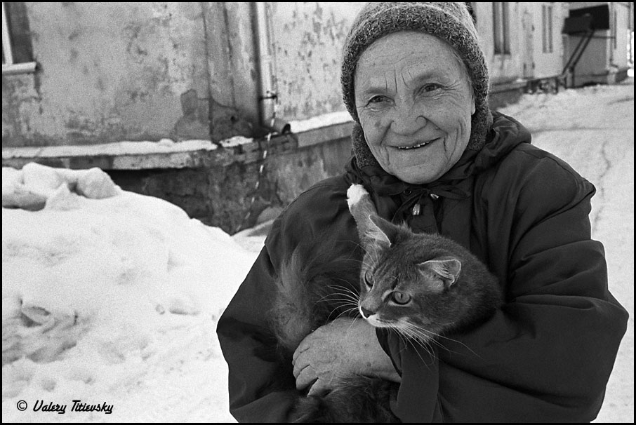 ЧБ стрит фото Новосибирска (15)