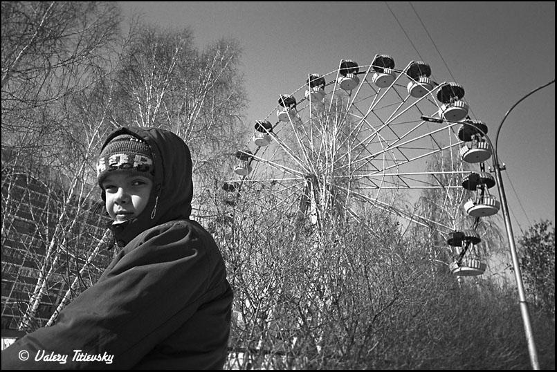 ЧБ стрит фото Новосибирска (12)
